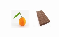 Clémentines au chocolat 350 g  Pot de 350 g