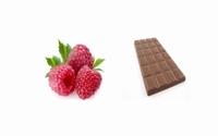 Framboises au chocolat 200 g  pot de 200 g