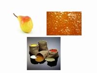 Confiture de poires au caramel et epices 350 g  Pot de 350 g