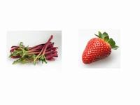 Confiture de fraises et rhubarbe 350 g  Pot de 350 g